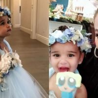 The Photos From Dream Kardashian's Fairy Birthday Party Proves She's Got The Coolest Aunts
