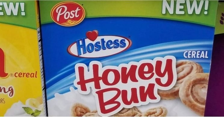 Holy Hostess! You Can Find Honey Bun Cereal on Shelves Now
