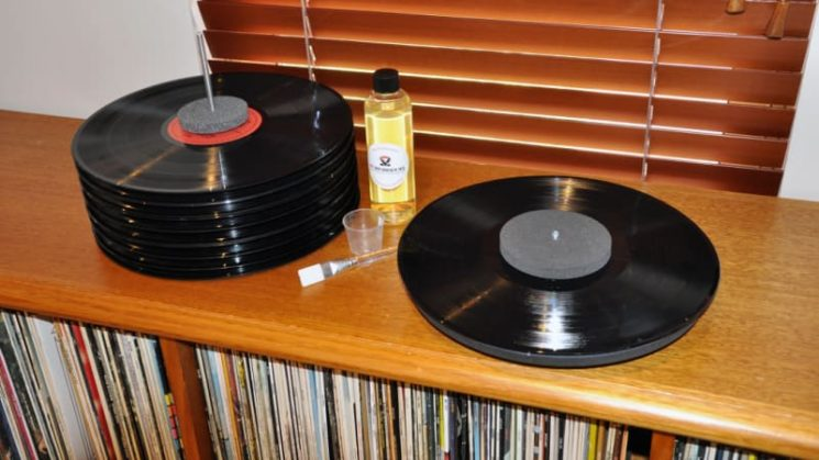 How to give your vinyl records an extreme clean