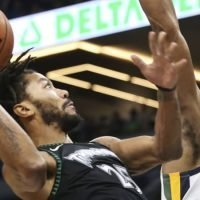 Rose drops 50 as Timberwolves top Jazz in NBA