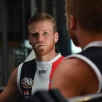 New Saint Hannebery stares down the doubters