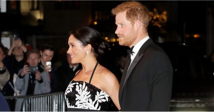 Harry and Meghan Look So Stunning at the Royal Variety Performance, We Can't Stop Staring
