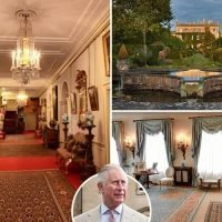 Google virtual tour lets royal fans look around Prince Charles' homes Clarence House and Highgrove