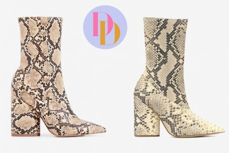 Ego is selling £45 snakeskin boots which look just like Yeezy's £600 designer version – can you tell the difference?
