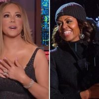 Mariah Carey reveals she was left humiliated after son vomited on Michelle Obama and ruined her dress