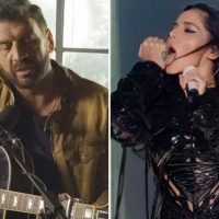 Nick Knowles overtakes Cheryl on the iTunes chart and soars to number one after Dec praised his music career on I'm A Celebrity