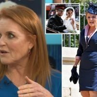 Sarah Ferguson says Harry and Meghan's wedding was 'so nerve-wracking she cried' – and how 'dear friend Diana' was in her thoughts