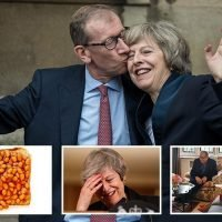 Theresa May credits husband Philip's support, a glass of whiskey and beans on toast with helping her through week of Brexit chaos