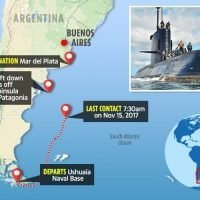Missing Argentine submarine ARA San Juan 'imploded' officials reveal as it's found deep in the Atlantic a year after it disappeared with 44 crew on board