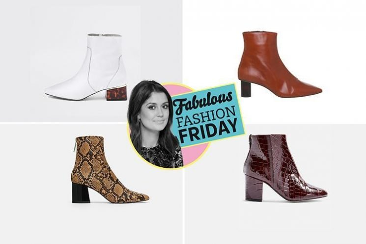The £36 burgundy crocodile-effect Topshop boots you NEED in your wardrobe this autumn