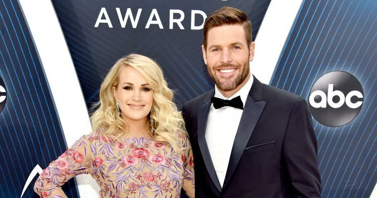 Pregnant Carrie Underwood Is Wearing Mike Fisher's Clothes Because Hers Don't Fit