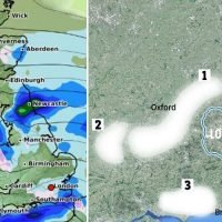 UK set for 3cm snow as wintry weather hits South of England tomorrow – see if YOU will get any white stuff with our forecast maps