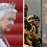 Queen Elizabeth Sends Sympathies To California Wildfire Victims As Meghan Markle's Home State Battles Flames