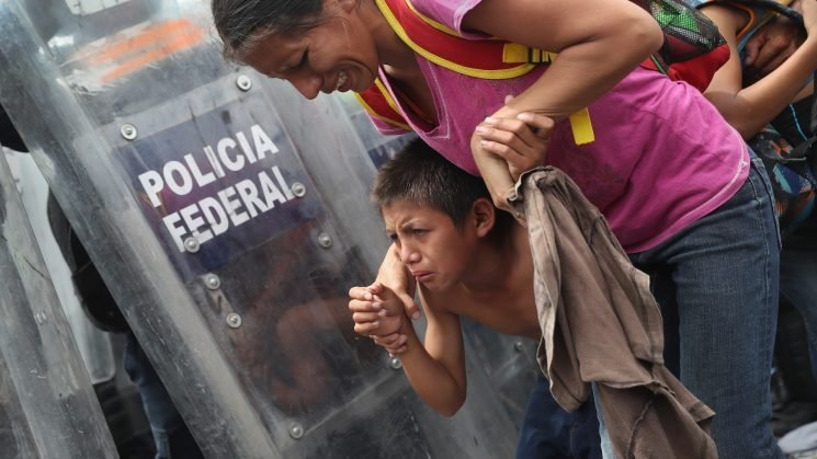 AAP Condemns Use of Tear Gas on Children at Mexican Border