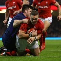 Wales 21 Scotland 10: George North and Jonathan Davies touch down for home side as Stuart McInally scores for visitors