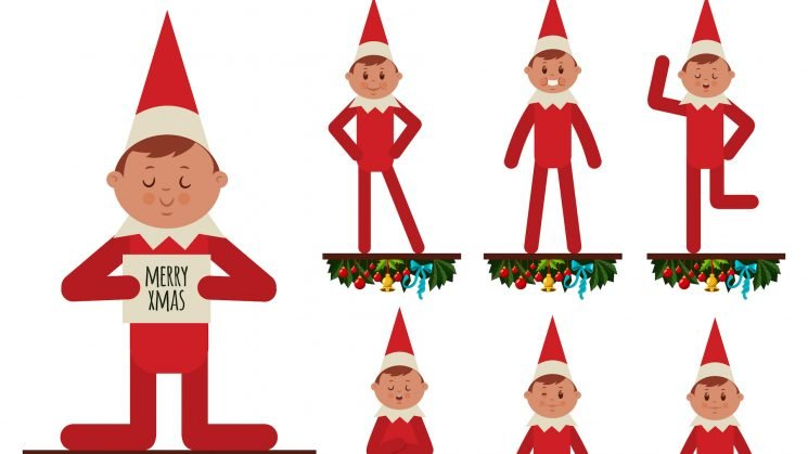 Elf on the Shelf Ideas for Every Day Until Christmas