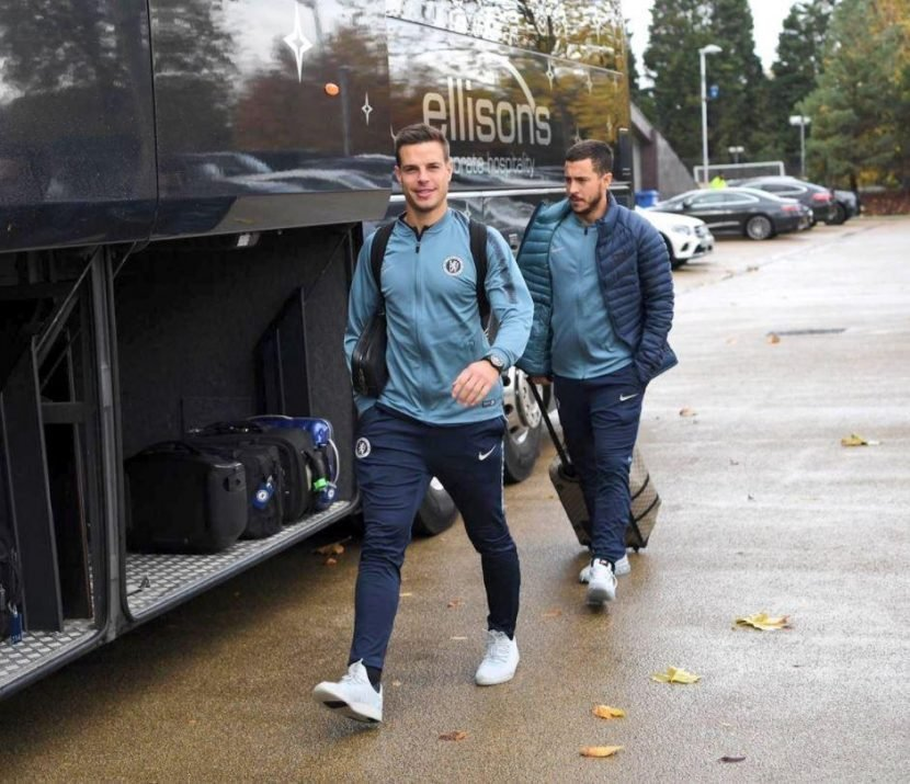 Cheslea star Eden Hazard travels to Belarus to face BATE Borisov after fears he would be left out to get back to full fitness