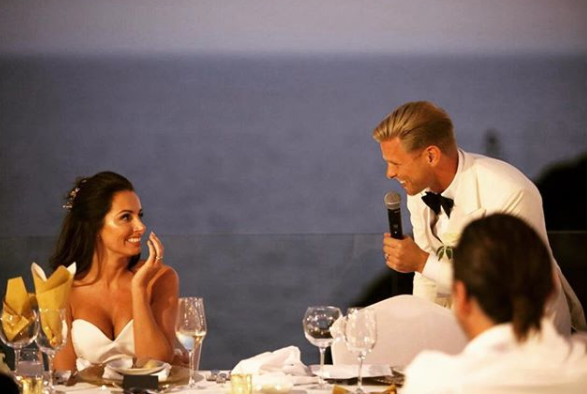 Jeff Brazier shares an unseen pic of wedding to Kate Dwyer as he celebrates five years since they first met on a work trip