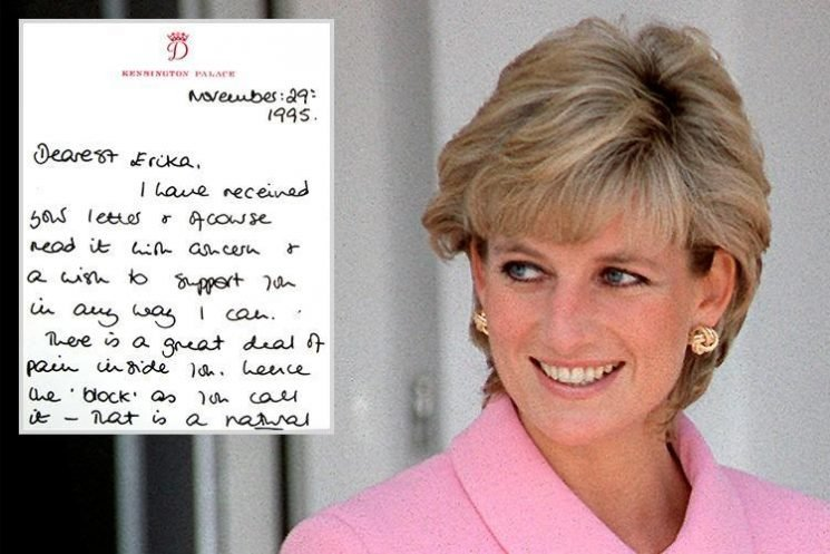 Princess Diana's heartfelt letter telling a fan going through a break up to 'hang on in there' tipped to sell at auction for £4k