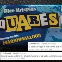 Internet divided after wife claims Kellogg's Rice Krispies Squares is a good breakfast as it's a 'cereal bar'