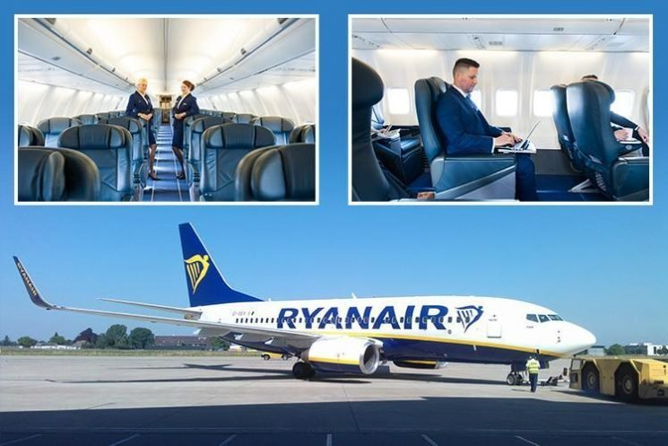 You can hire a whole Ryanair plane from £4,417 an hour for a private jet experience – but would you pay?