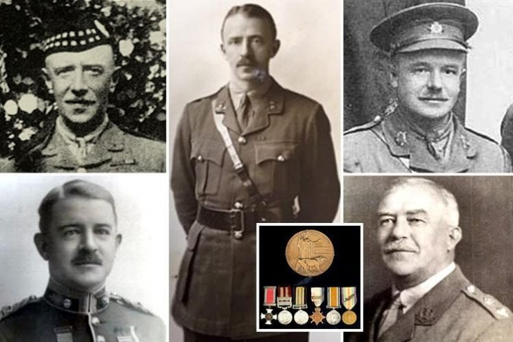 Incredible untold tale of five brothers who served in WW1 and only two came home