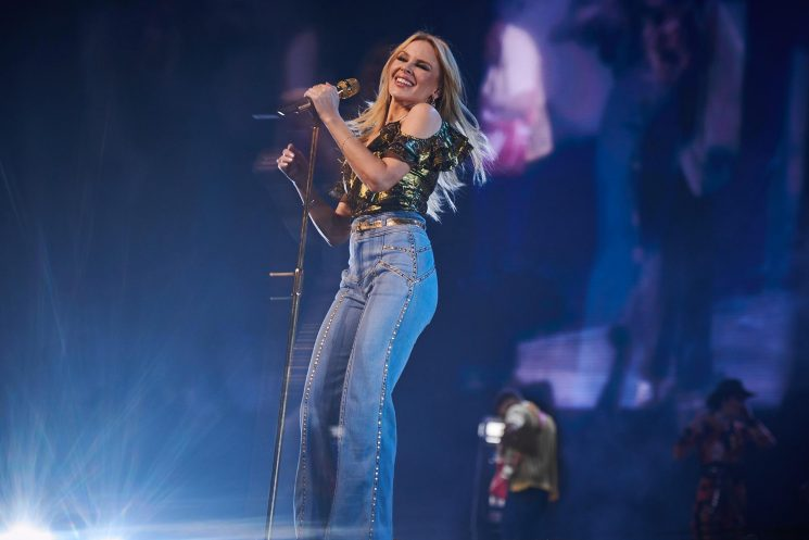 When do Kylie Minogue 2019 tour tickets go on sale and what are the dates for the Hampton Court Palace festival?