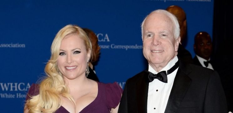 Meghan McCain Shares Veteran's Day Photo Of The Late John McCain In Uniform With Heartbreaking Message