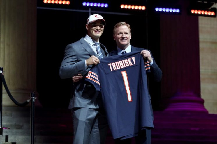 How Old is Chicago Bears Quarterback Mitchell Trubisky, and How Big is His Contract?