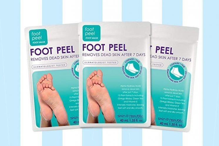 Baby feet 2018: foot peel socks for exfoliating and removing hard skin – do they work?