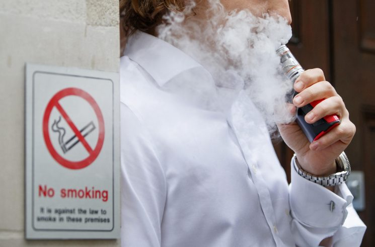 You could soon vape at your DESK – as MPs call for e-cigarette ban to be lifted