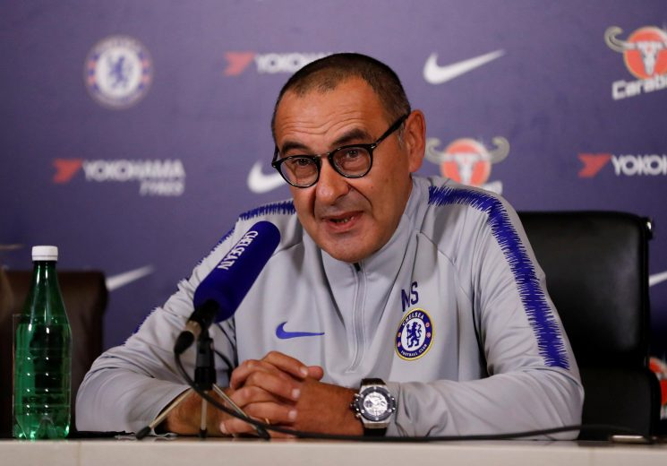 Maurizio Sarri reveals that Chelsea might not get chequebook out in January