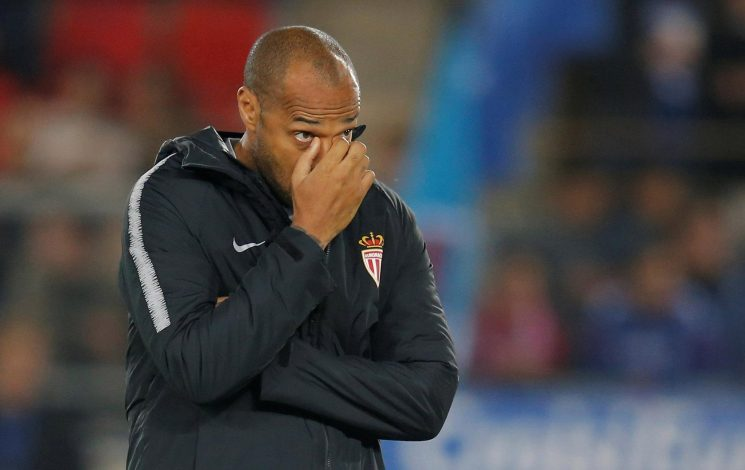 Thierry Henry is just 6/5 to be sacked by Monaco before Christmas