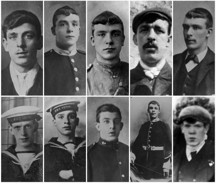 Astonishing story of World War One's biggest band of brothers – and NINE of the 10 Brit siblings survived
