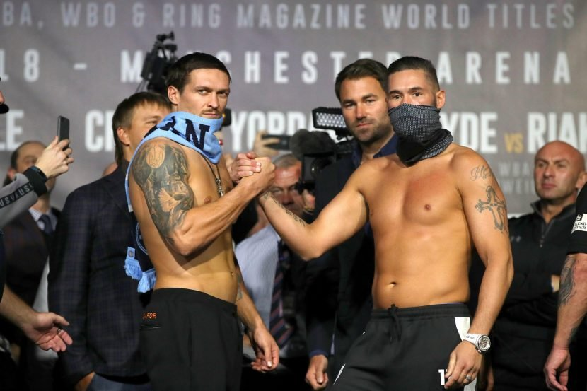 What time is Bellew vs Usyk tomorrow night, and how can I watch the fight?