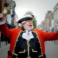 Town crier, 61, fights off yobs who stole his hat and wig by throwing his bell at them