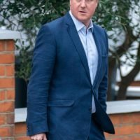 Where is David Cameron and what is the former Conservative prime minster doing now?