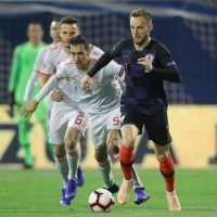 Croatia ace Ivan Rakitic out of England showdown after picking up hamstring injury in Zlatko Dalic's side's thrilling 3-2 win over Spain
