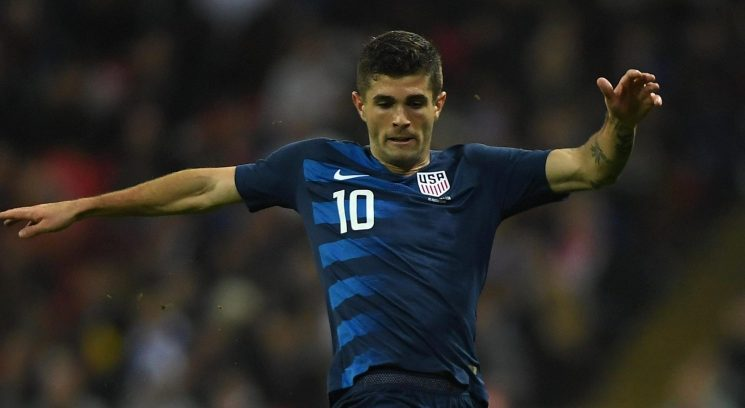 Chelsea joined by Liverpool in fight for Borussia Dortmund star Christian Pulisic