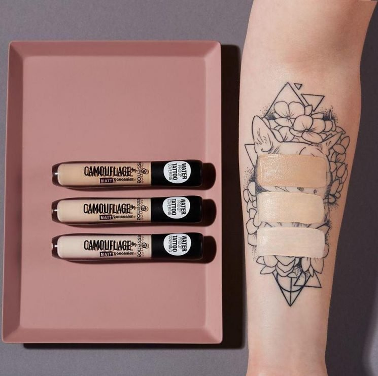 Wilko are selling a £2.80 concealer which claims to give such good coverage it could even hide a tattoo