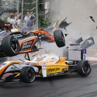 Sophia Floersch Macau F3 crash: German driver, 17, has seven-hour surgery on fractured spine after car hurtles through the air at 171mph