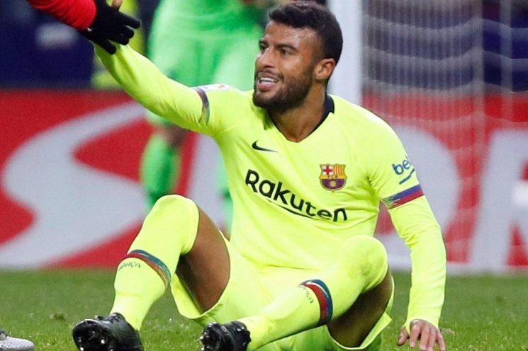 Barcelona star Rafinha facing nine months out after tearing ACL