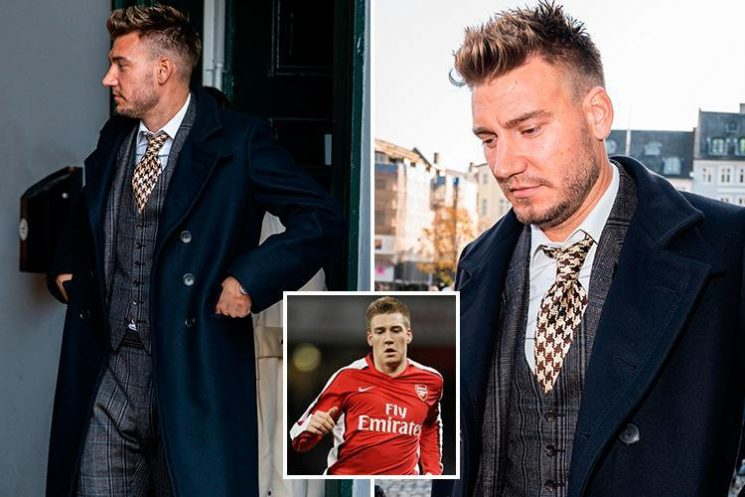 Former Arsenal star Nicklas Bendtner jailed for 50 days for breaking cabbie's jaw in row over £5 fare