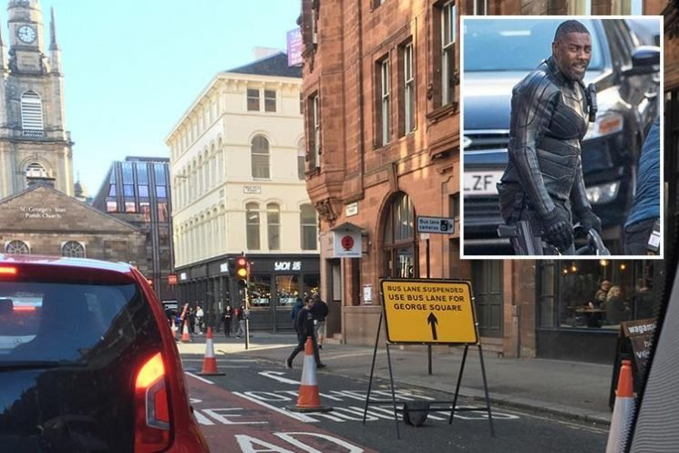 Drivers fined £50,000 after bus lane restrictions suspended for Idris Elba and Jason Statham film shoot were reinstated without notice