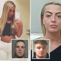 Hairdresser, 21, jailed after being unmasked as gangster's moll who helped lover and her brothers run £3m drugs empire