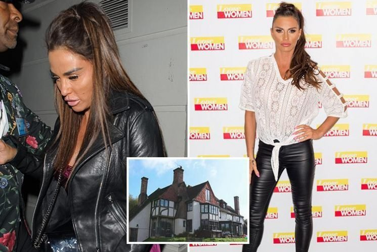 Katie Price moaned that 'messy mansion' was a money pit and admitted spending £18K on ONE steel beam two years before bankruptcy battle