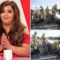X Factor's Scarlett Lee reveals how nephew, 4, woke her up during devastating family house fire