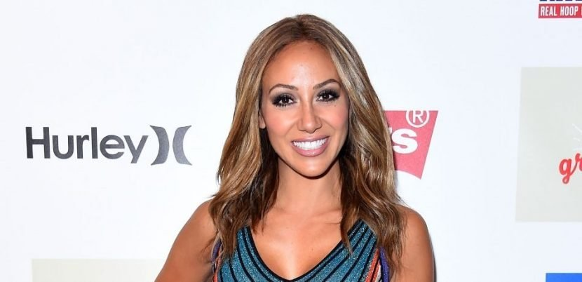 'RHONJ' Star Melissa Gorga Shows Off Some Skin In A Black Cut-Out Swimsuit