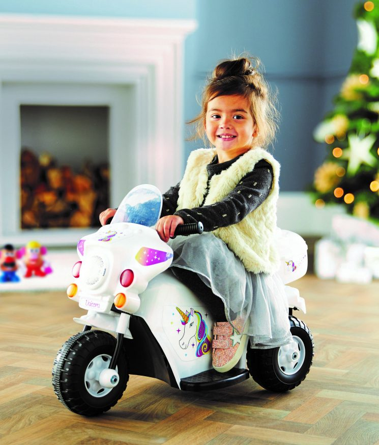 Aldi is selling ride on toys for kids – and one is unicorn themed