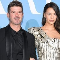Robin Thicke and April Love Geary's House Burns Down in California Wildfires